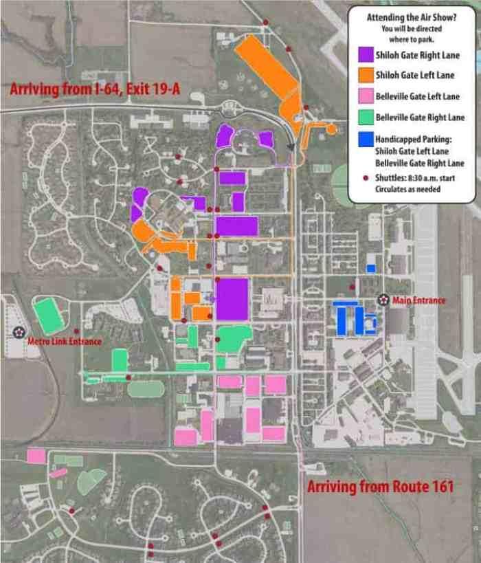 Air Show Parking Plan Map-01