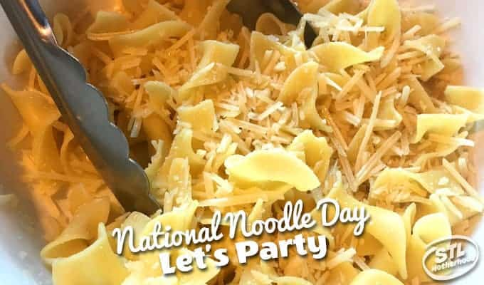It's National Noodle Day!
