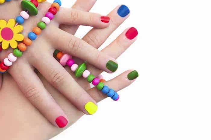 birthday party ideas kids nail polish