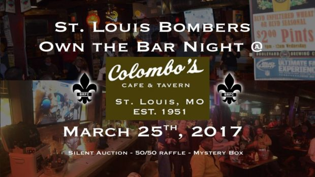 Bombers RFC Own the Bar Night 2017