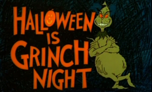 Image result for halloween is grinch night