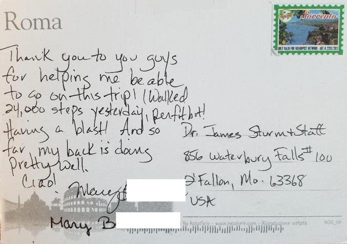 A review from Mary B.