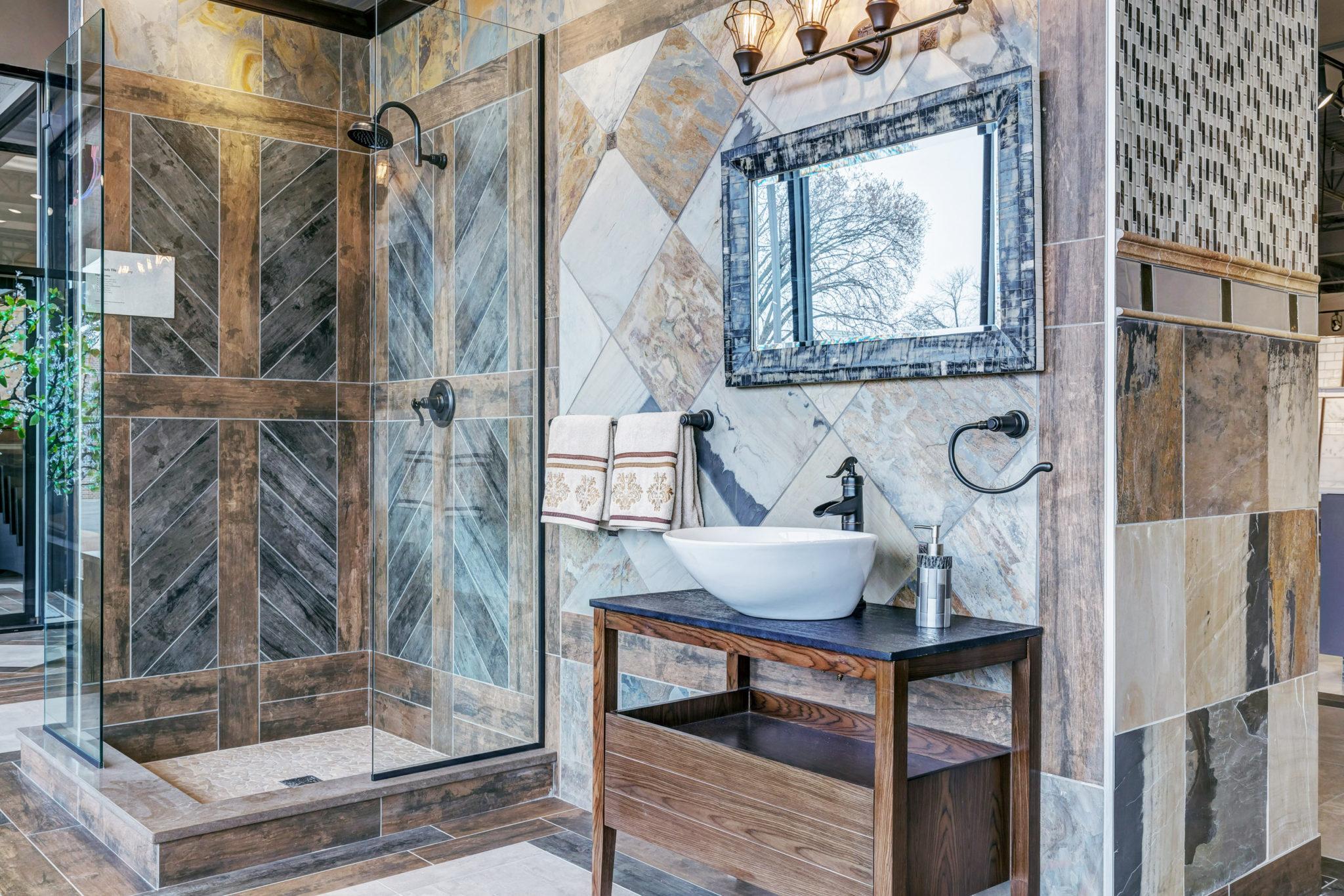 bathroom tile chesterfield 63017