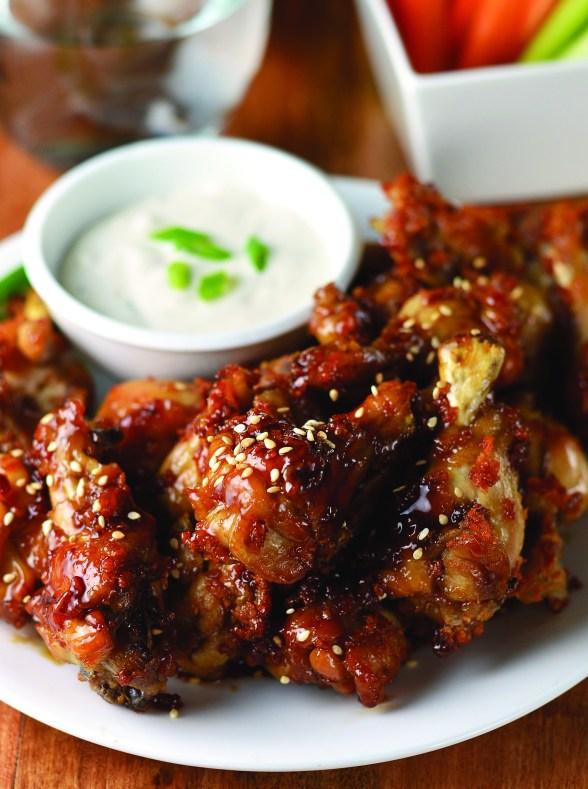 Sticky Sesame wings