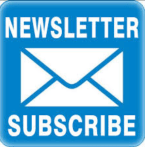Newsletter subscribe blue button