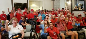 Ponce crowd- Go Cards