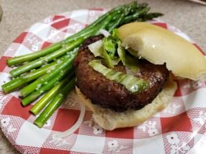 Burger on Low Carb bun