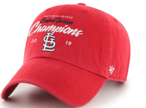 NL Central Champ hats
