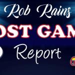 Thursday Game Report