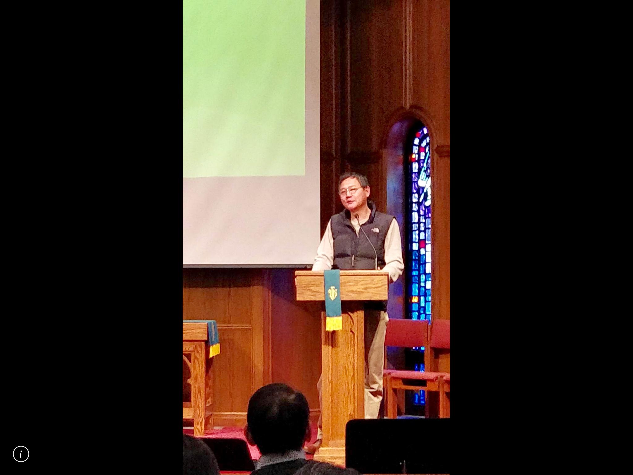 一顆開放慷慨的心   聖路易臺灣基督長老教會