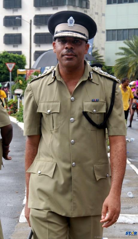 Police Commissioner  Vernon Francois.