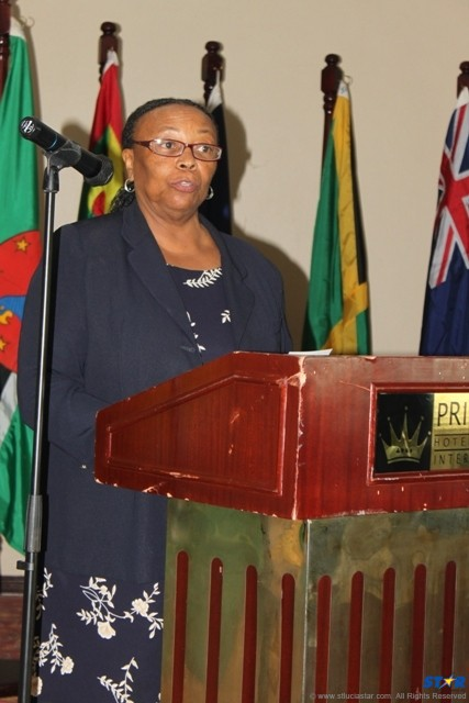 """Educator and Caricom Program Manager Dr. Morella Joseph:  Her speech at last year's """"Breaking the Silence"""" rally highlighted alarming sexual behaviour statistics in the Caribbean."""