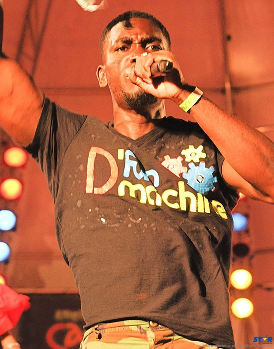 Ezra Augustin proved why he is known as D'funmachine, rampaging his way to the soca monarch crown.