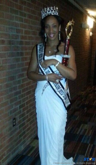 Former Miss SLHTA Leona Constable a proud  product of Coconut Bay and by extension the  hotel and tourism industry here.