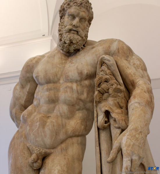 The pervert who sculpted this impressive physique also was responsible for the naked paintings of men and women at the Vatican!