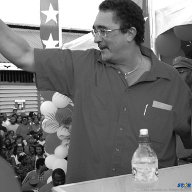 SLP Leader Kenny Anthony: Will he give up leadership of the party going into the next election?