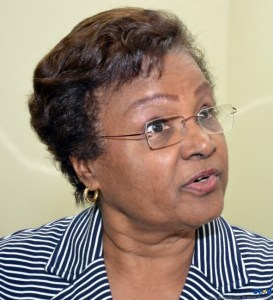 Billie Miller: Barbados' former Deputy Prime Minister and the Barbados Association of Retired Persons (BARP) current Vice President.