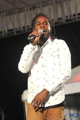 Chronixx at Jazz opening 2015.