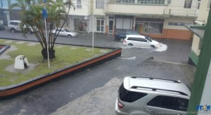 Flooding in Castries