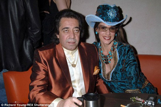 Saudi Arabian Walid Juffali, who represents Saint Lucia on the International Maritime Organization, is pictured here with Christina Estrada who has filed for divorce and a claim of part of his £4 billion fortune. However, his diplomatic immunity prevents him from being extradited to appear before a court.