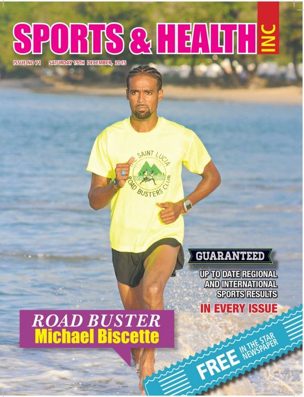 Sports & Health Magazine Inc. Issue no. 71 -  Saturday December 19th, 2015.