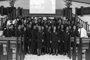 The group of sixty-two newly graduated Ushers.
