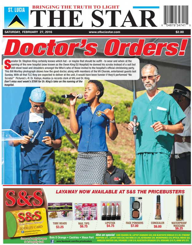 The STAR Newspaper Saturday February 27th 2016