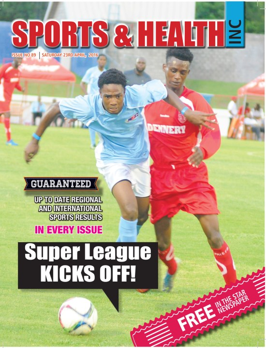 Sports & Health Magazine Inc. for Saturday April 23rd, 2016 ~ Issue no. 89