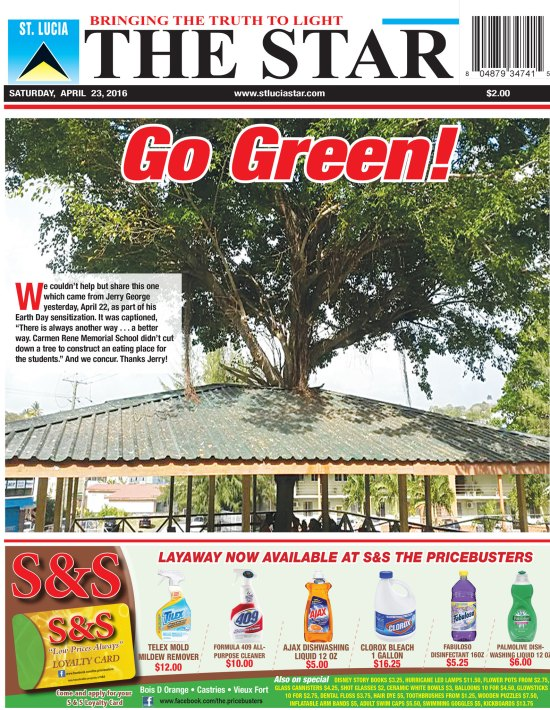 The STAR Newspaper for Saturday April 23rd, 2016 ~ Image of the Week