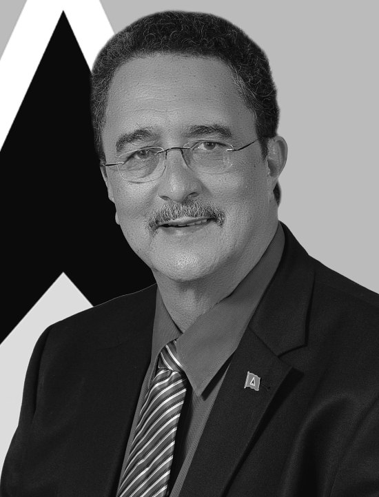Dr. Kenny Anthony: Prime Minister of Saint Lucia and Leader of the Saint Lucia Labour Party.