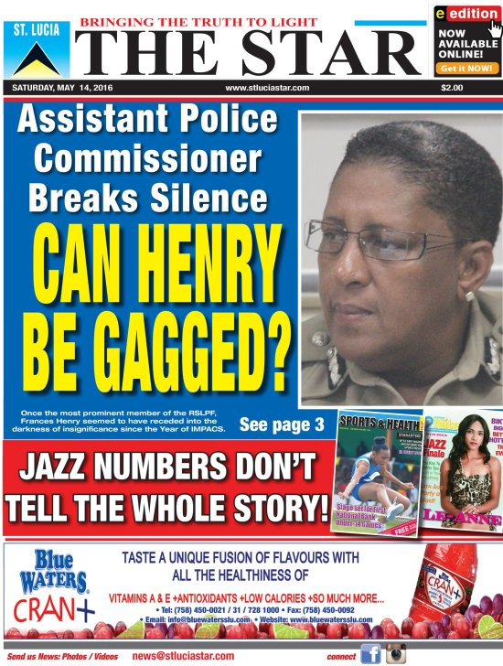 The STAR Newspaper for Saturday May 14th, 2016