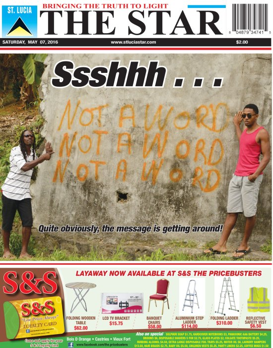 The STAR Newspaper for Saturday May 7th, 2016 ~ Image of the Week