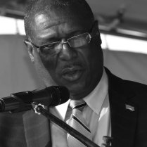 Hon. Stephenson King – Minister for Infrastructure, Ports, Energy and Labour.