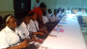 Guests of Sandals Grande St Lucian Spa and Beach Resort - George Charles Secondary School