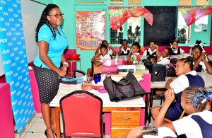 Ave Maria Primary alumna and Flow product manager for broadband, Adriana Mitchel-Gideon on International Internet Day
