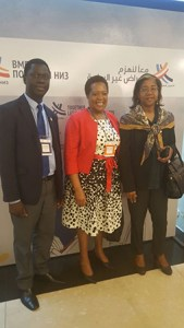 Delegation at the WHO Global Conference