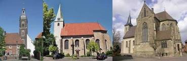 Kirchen in St. Mauritius Nordkirchen