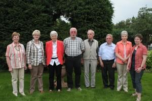 Vorstand der Kolpingfamilie Selm