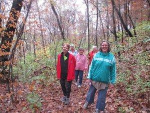 Fall Retreat 2015 Gang Hiking_