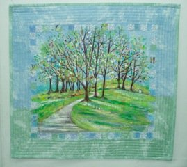 Suzanne Galli Koenen's Fabric Art