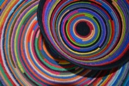 Suzanne Galli Koenen's Fabric Baskets