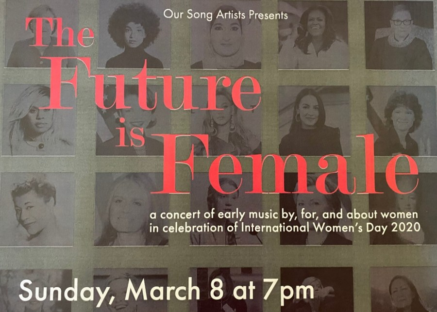 """""""The Future is Female"""" Concert"""