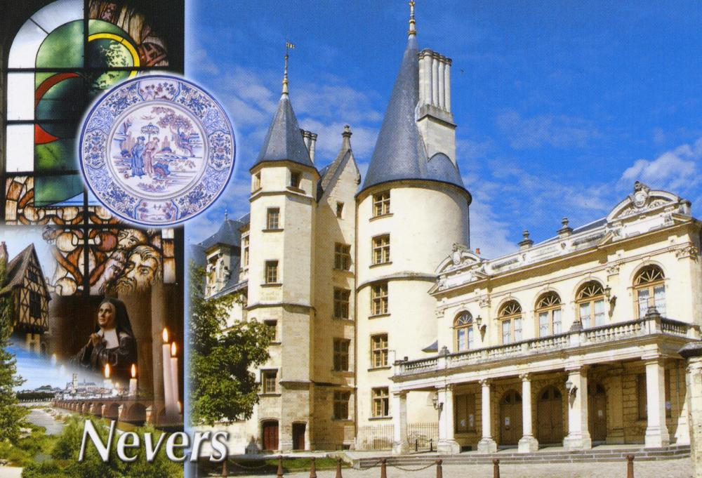 Un coin de France : Nevers en Bourgogne (1/6)