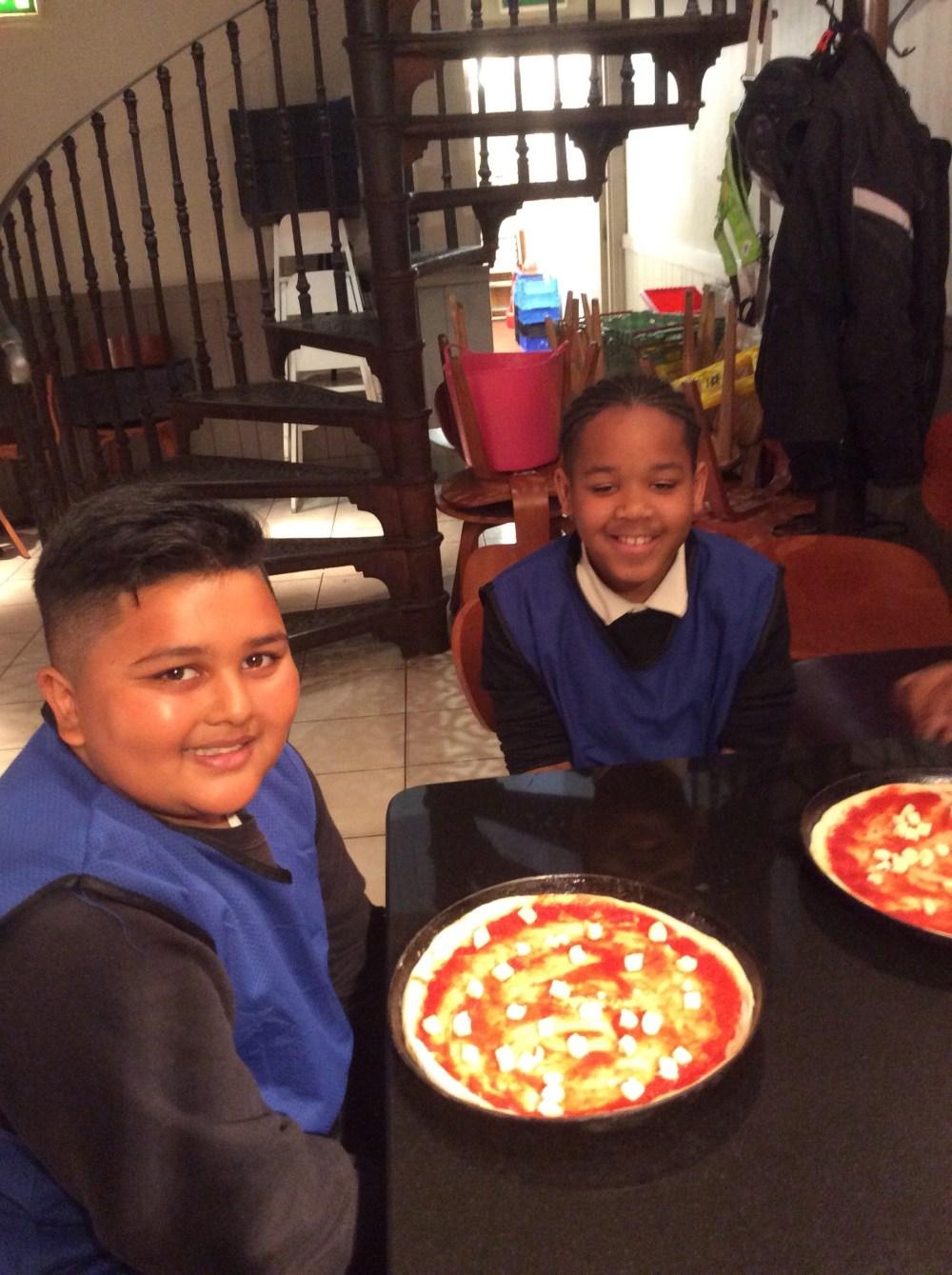 Year 6 Pizzaiolos St Margarets Lee