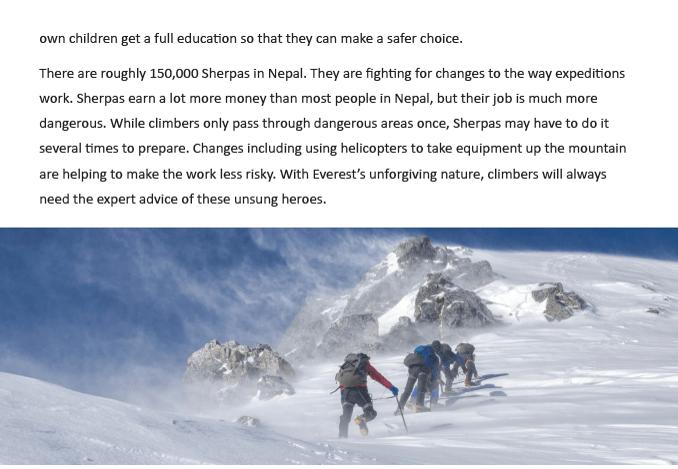 sherpas 3