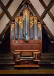 St Mark's organ