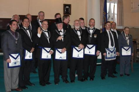 St. Mark's Lodge  2012 Lodge Officers