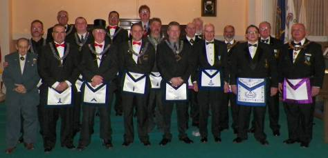 St. Mark's Lodge's 2013 Officers