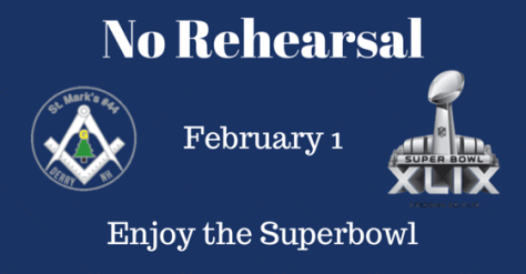 No Rehearsal - Superbowl