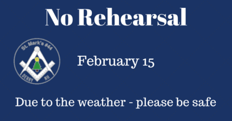 No Rehearsal - weather